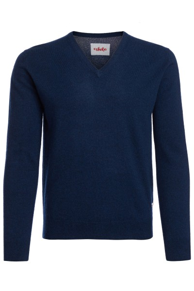 Kasjmier sweater V-hals heren astral