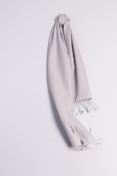 3a299be0336bc6 Pashmina 30x150cm silbergrau | Pashmina 70% kasjmier shawl ...