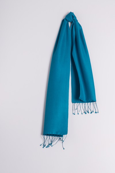 e28db15f87373a Pashmina 30x150cm petrol | Pashmina 70% kasjmier shawl | Pashmina ...
